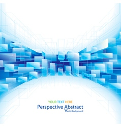 Perspective Abstract Background vector image