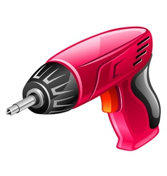 screwdriver vector image