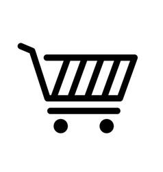 shopping art icon vector image