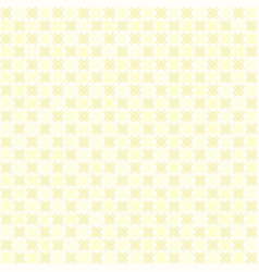 Yellow abstract checkered pattern seamless vector