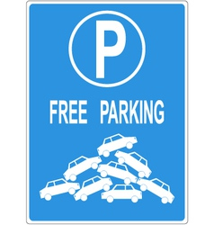 parking vector image vector image