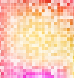 abstract design mosaic vector image