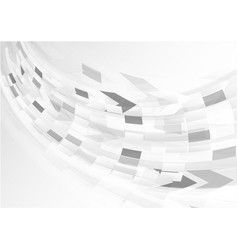 abstract grey background with curve light vector image