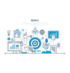 Business success financial results banking vector
