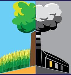 ecology v2 vector image