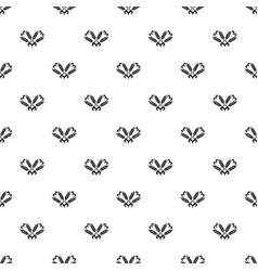 Filling wheat pattern seamless vector