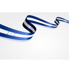 Honduras flag background vector
