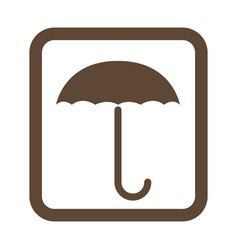 Keep dry protect cargo from excessive humidity vector