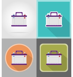 power and energy flat icons 02 vector image