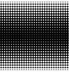 Seamless pattern black white different sized vector