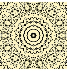 Seamless pattern oriental style indian henna vector image