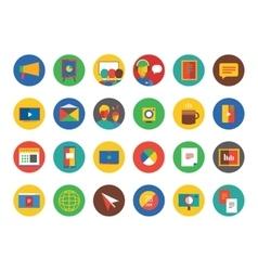 Webinar Icons Set Learn Education or vector
