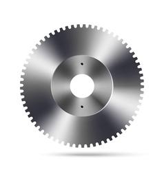 Metal gear vector image
