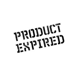 Product expired rubber stamp vector