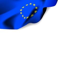 Flag Euro vector image vector image
