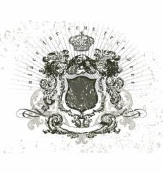 vintage composition vector image