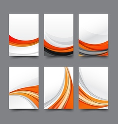 Abstract background collection of curve wave vector