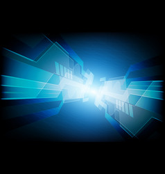 abstract speed technology concept background vector image