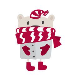 Christmas scandinavian style design hand drawn vector