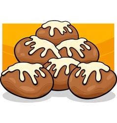 Donuts clip art cartoon vector