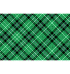 hibernian fc tartan fabric texture diagonal vector image