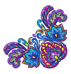 Indian ethnic decorative element vector