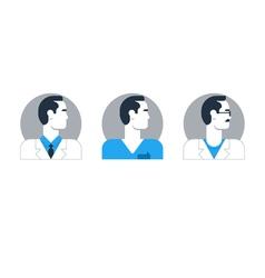 People doctor 1 vector image