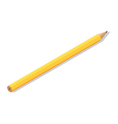 school yellow kid pen icon isometric style vector image