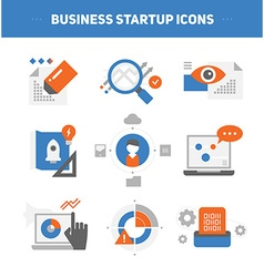 Startup Business Concepts vector image