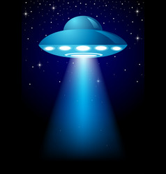 unidentified flying object vector image