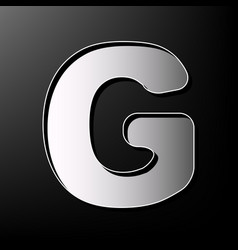 letter g sign design template element vector image vector image