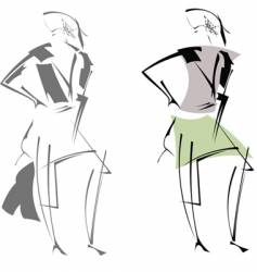 modern sketches vector image vector image