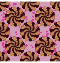 Pattern with abstract element vector image vector image