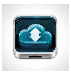 cloud computing xxl icon vector image vector image