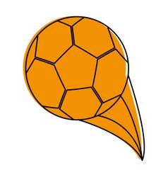 Football soccer ball icon image vector