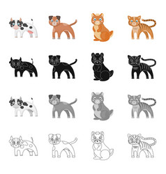 Animals cow milk and other web icon in cartoon vector