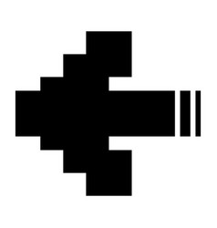 Arrows pixel vector