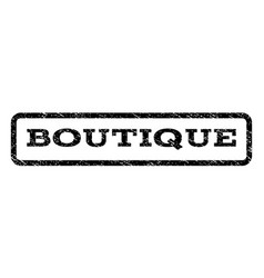 Boutique watermark stamp vector