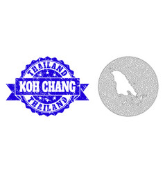 Carcass mesh round subtracted map koh chang vector