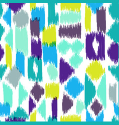 Colorful textile pattern vector