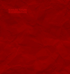 Creased red paper seamless texture vector