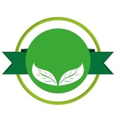 green leaves leaf nature vector image