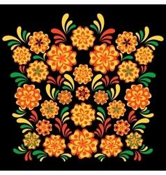 Hohloma khokhloma ornament vector