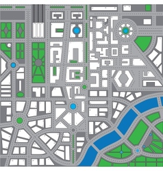 Map city2 vector