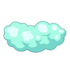 medium cloud icon cartoon style vector image