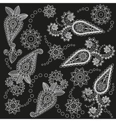 Ornate Paisley Pattern vector image