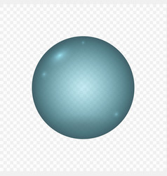 Realistic water bubble isolated template for your vector
