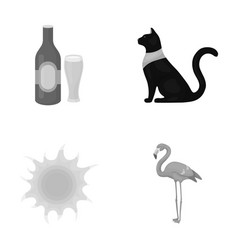 Religion pub and other monochrome icon in cartoon vector