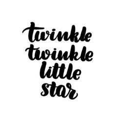 Twinkle little star vector