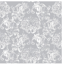 vintage baroque pattern imperial beautiful vector image